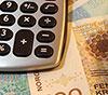 Kalkulator og pengesedler
